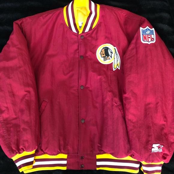 9b4d232b Vintage redskins NFL starter jacket